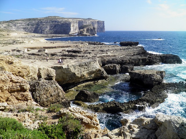 The island of Gozo in Malta. Gozo has long been identified as Ogygia, the domain of the nymph Calypso in Homer's Odyssey