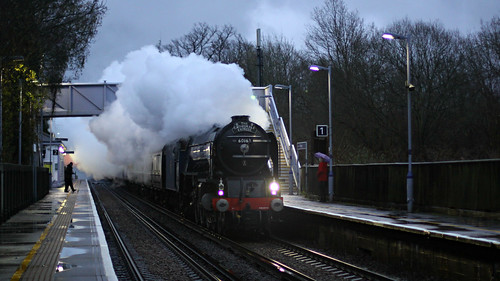 "60163 Tornado ""The Cathedrals Express"" at Pluckley"