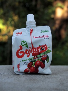 Zumo-gelatina de Goji berry