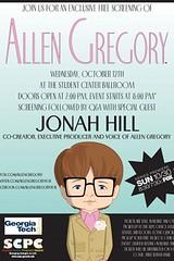 Allen Gregory poster