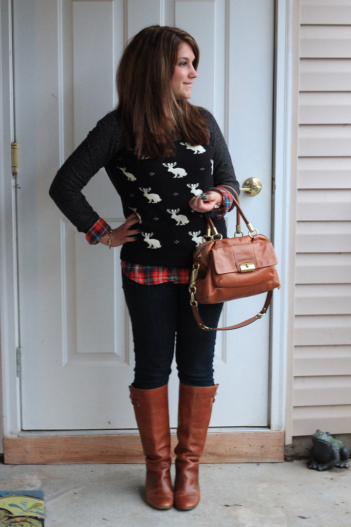 Madewell Jackalope Sweater Outfit