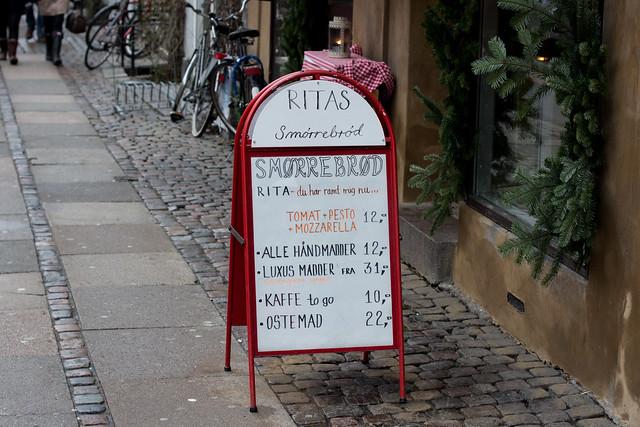 Rita's Smørrebrød - Copenhagen