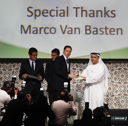 Marco Van Basten and Mattar Al Tayer
