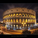 The Night Lights of the Colosseum. Rome, Italy :: HDR by :: Artie   Photography :: Travel ~ Oct