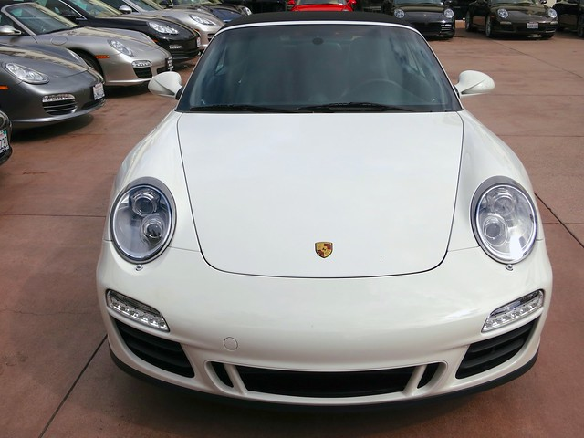 2011 Porsche 911 Carrera GTS Cabriolet Carrara White on Black PDK 163 ...