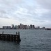 Boston in the morning, from Logan's boat dock by hober