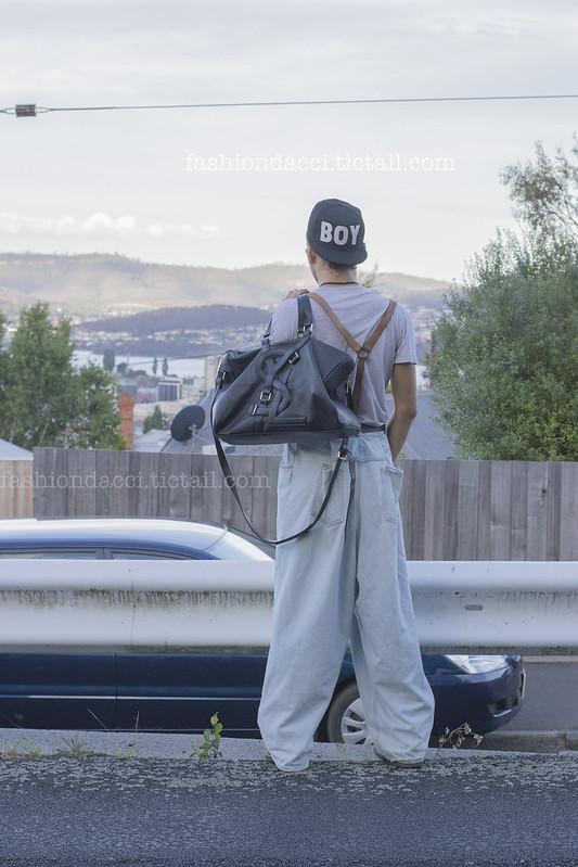 blog#03 YSL back side vintage leather suspender 22nd DEC 2012副本