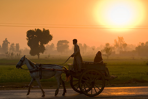 Week 51 - Sunset at Barki by Abdul Qadir Memon