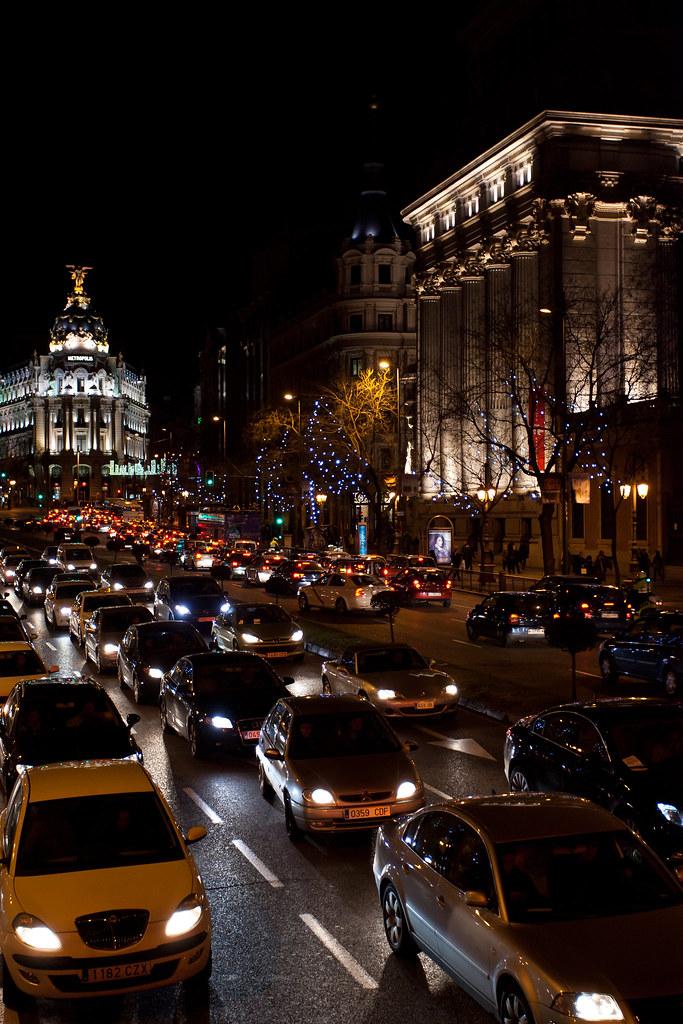 Gran Via, Natal em Madri