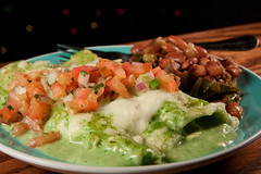 Enchiladas Especiales Tabuba Style and Mexican Spi…