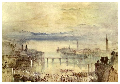 024-Zurich 1840-44-The water-colours  of J. M. W Turner-1909