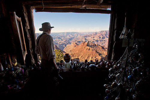 Gift Shop Grand Canyon View by Jeff Dyck