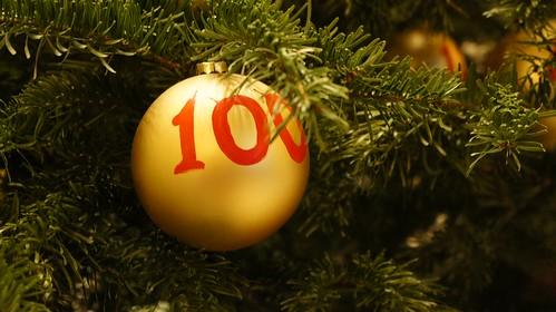 Bola de Navidad 100 años del Palace