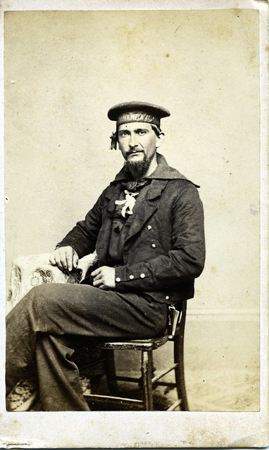 17 Cdv Civil War Sailor From Nj Flickr Photo Sharing