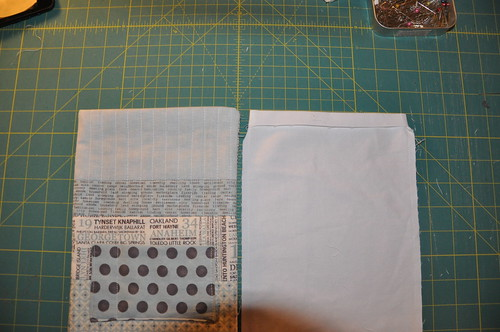 Padded iPad mini bag tutorial