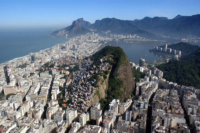 Rio de Janeiro: panoramic view of part of south zone.   Flickr - Photo Sharing!