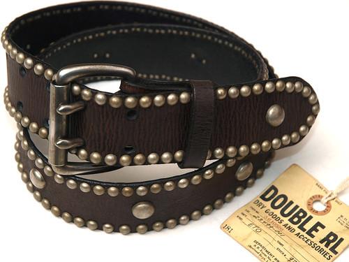 RRL / Lancaster Studded Belt