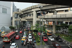 Bangkok Art and Culture Centre, BTS and road intersection
