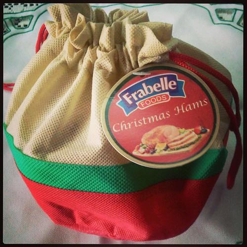 Frabelle Christmas Ham