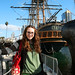 Me with the HMS Surprise (Squee!) by yotababy