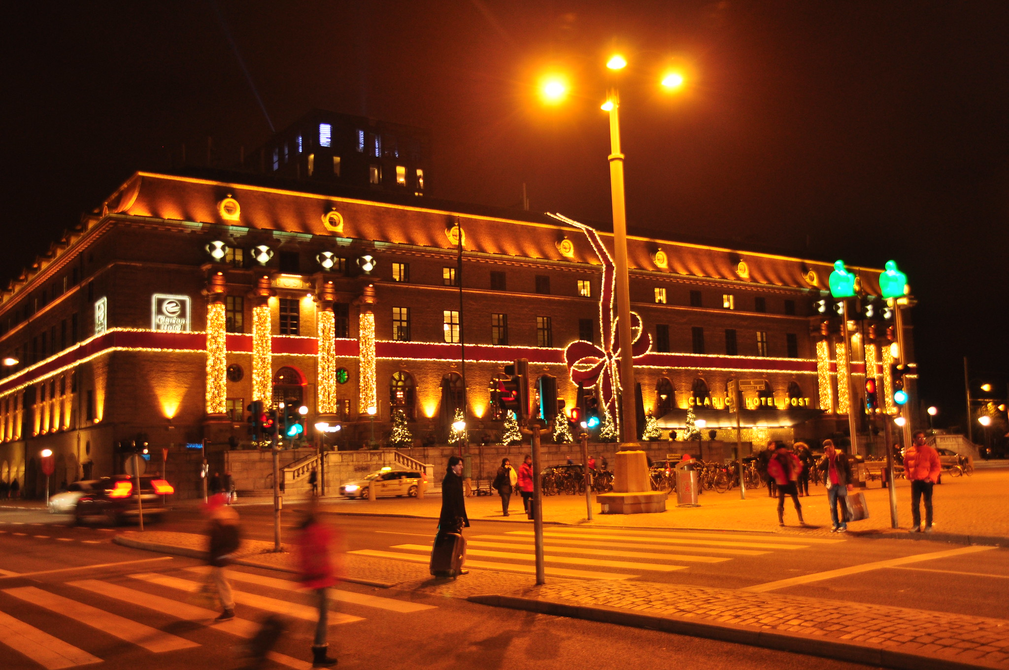 Main railroad station in Gothenburg
