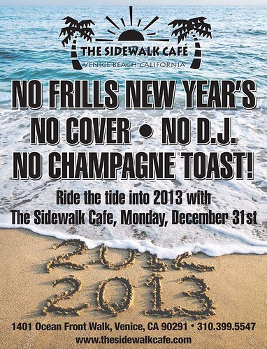 Sidewalk Cafe New Years