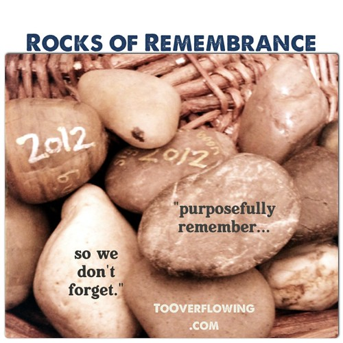 Rocks of remembrance