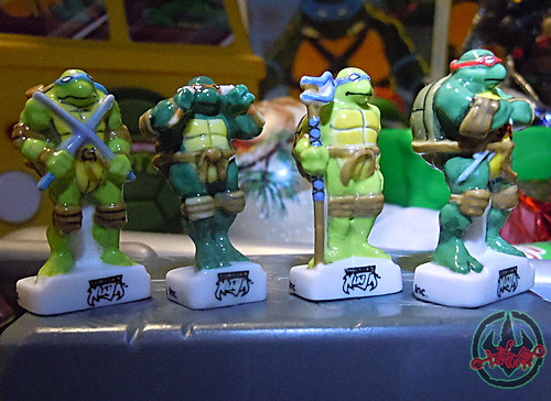 PRIME :: TORTUES NINJA  porcelain miniature prototypes ii (( 2009 ))
