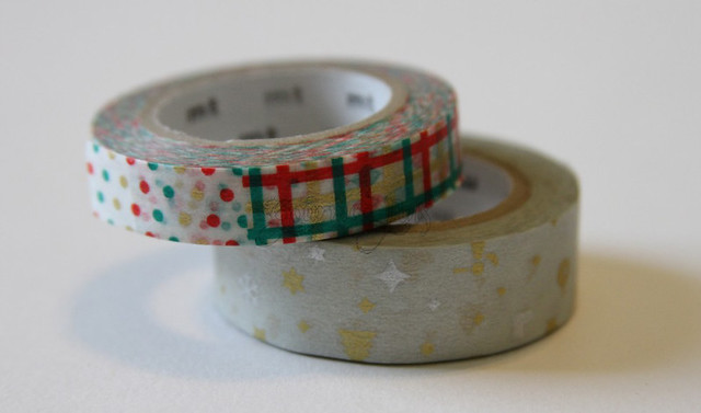 Christmas Themed Washi Tape