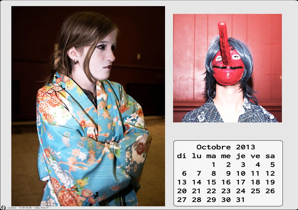 related image - Calendrier Cosplay 2013 - 10 - Octobre