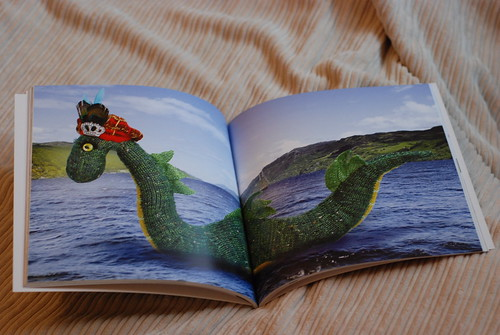 Knit Your Own Scotland - Nessie the Loch Ness Monster knitting pattern