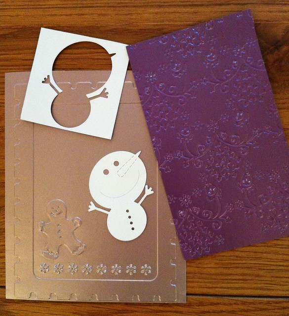 Gingerbread and nordic embossing