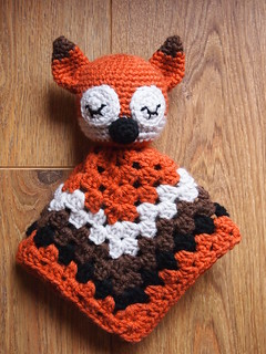 Sleepy Sly Fox Security Blankie