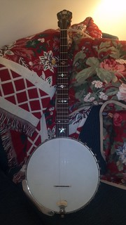 Awesome Christmas Gift - Antique Dobson Victor Professional Banjo