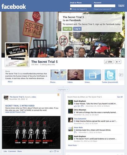 ST5 Facebook Screengrab