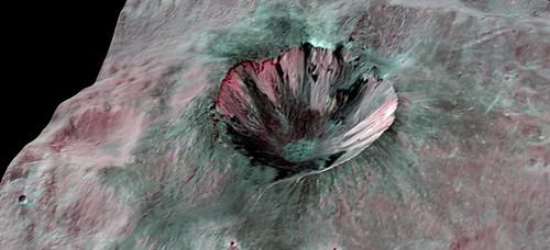 Vesta Cornelia Crater