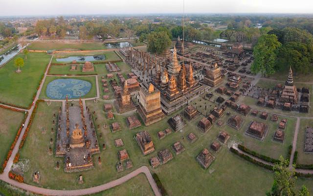 Wat Mahāthāt à Sukhothai