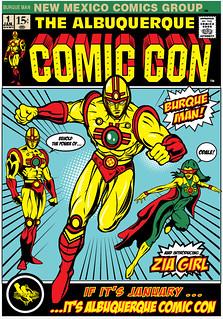 ABQ Comic con Cover 1