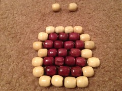 Wooden Bead Bib Necklace
