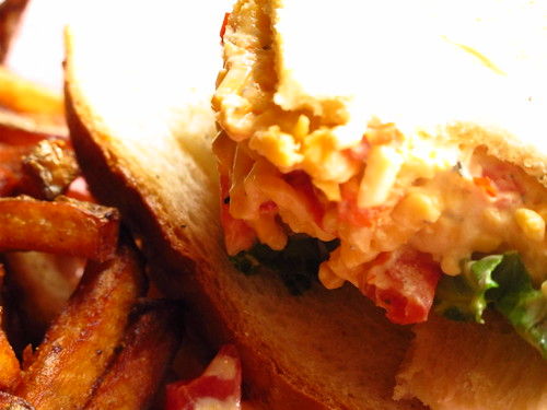 """""""Death Row Pimento Cheese Sandwich"""", Young Avenue Deli, Memphis TN"""