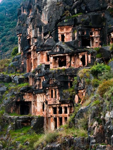 Lycian Necropolis / Myra, Turkey
