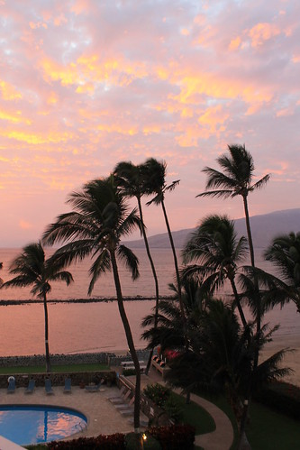 Maui - evening beach view