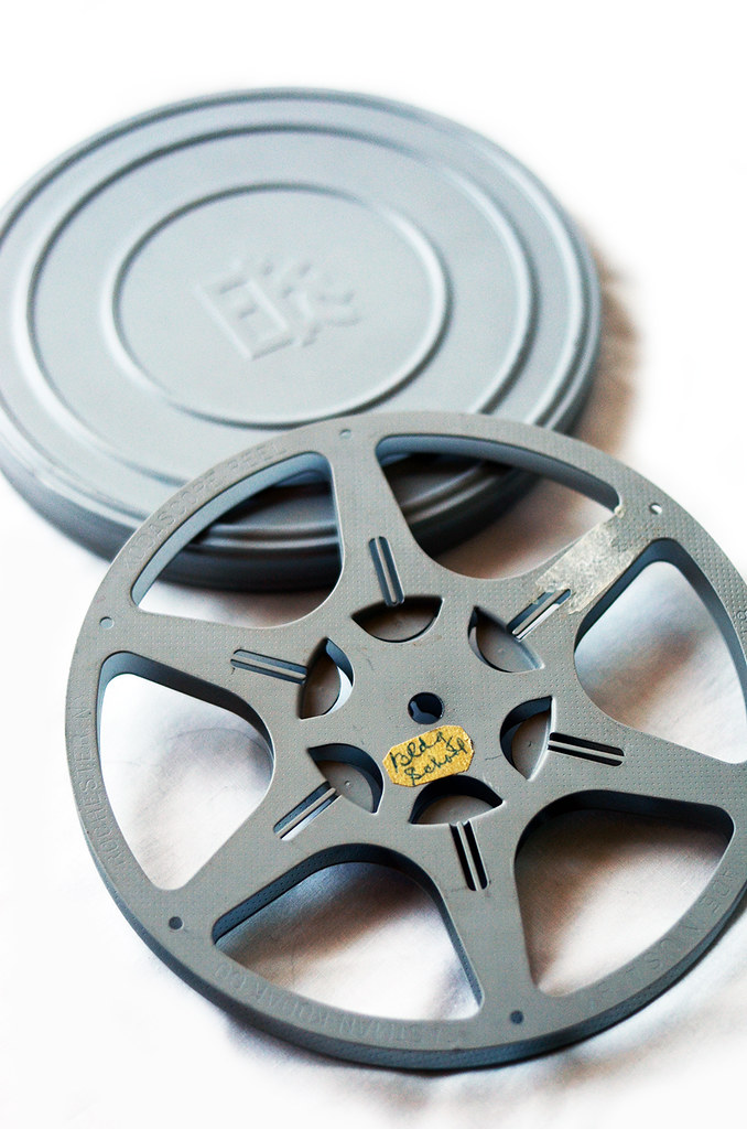Vintage Film Reel and Canister
