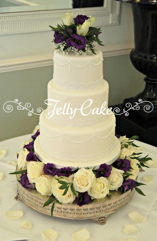 Jelly Wedding Cake Uk