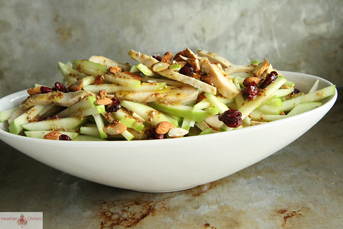 Chicken, Apple Cranberry and Almond Salad