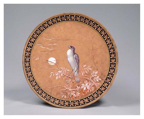 007-Plato esmaltado-siglo 19-artista Fath Kunfu-Cortesía del Tokyo National Museum