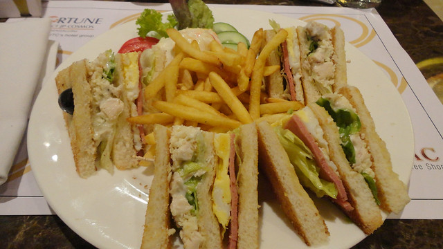 Zodiac Club Sandwich