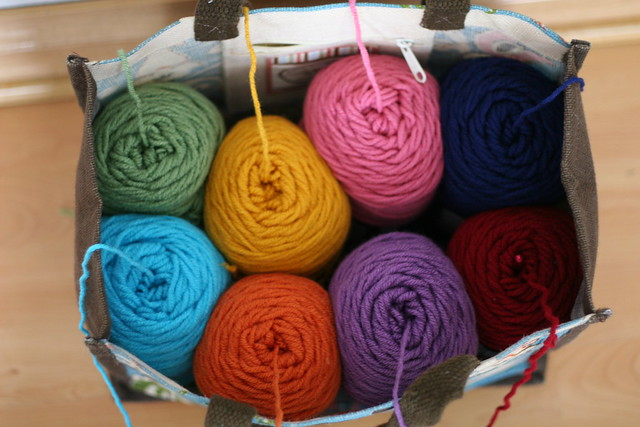 yarn-in-waiting