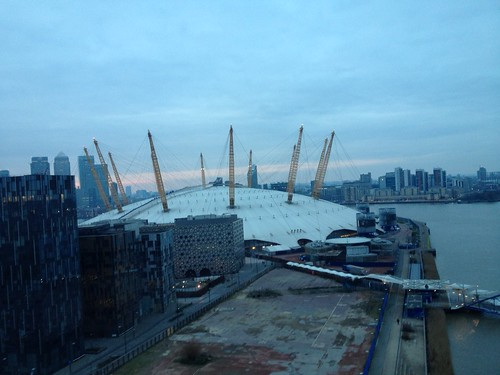 The O2 from The Emirate Air Line
