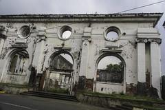 Derelict building in Intramuros